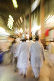 The Bur Dubai souq is crowded — Stock Photo