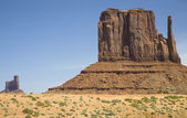 Mitten Butte at Monument Valley — Stock Photo