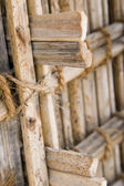 Thatch display at Heritage Village — Stock Photo