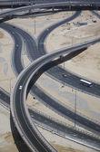 Highways crossing — Stock Photo