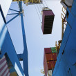 Stock Photo: Limassol, Cyprus, dockside crane