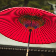 Traditional red umbrella — Foto Stock #33896099