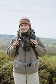Woman Hiking — Stock Photo