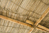 Wood thatch roof — Stock Photo