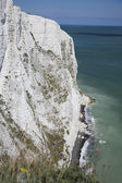 Cliff by seaside — Stock Photo