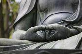 Buddha hands — Stock Photo