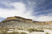 Barren desert landscape — Stock Photo