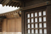 Architecture at Shitaya Jinja Shinto Shrine — Stock Photo