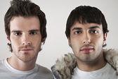 Young men posing — Stock Photo