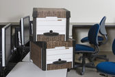 Moving Boxes — Stock Photo