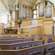Modern church interior — Stock Photo