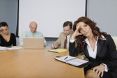 Business People at a Meeting — Stock Photo