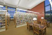 Sala de leitura da biblioteca — Fotografia Stock