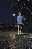 Man jogging — Zdjęcie stockowe