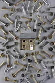House and keys — Stock fotografie