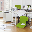 Stock Photo: Ransacked office