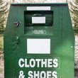 Stock Photo: Clothing Bank