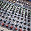 Sound mixing equipment — Foto de Stock