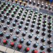 Sound mixing equipment — Stock Photo