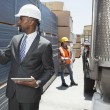 African American male engineer — Stock Photo #33983535