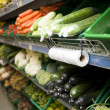 Stock Photo: Vegetables in grocery store