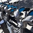 Stock Photo: Public Rental Bicycles