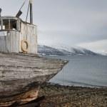 Weathered fishing boat Kvaloya Sallir — Stok fotoğraf #33987095