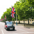 Stock Photo: Black London cab