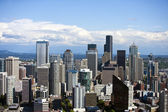 Southeast to Financial district of Seattle — Stock Photo