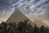 The Great Pyramids — Stock Photo