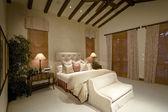Bedroom in residence — Stock Photo