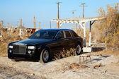 Rolls Royce parked — Stock Photo