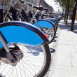 Public Rental Bicycles — Stock Photo