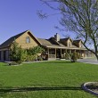 Ranch home exterior — Stock Photo #33991427