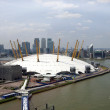 Arena and Canary Wharf Skyline — Stock Photo #33991487