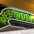 Restroom sign — Stock Photo #33996337