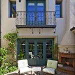 Mediterranean home exterior — Stock Photo