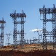 Stock Photo: Electricty pylons USA