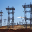Electricty pylons USA — Stock Photo #33999995