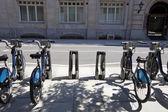 Public Rental Bicycles — Stock Photo