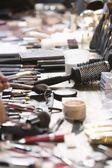 Cosmetics on table — Stock Photo