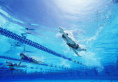 女游泳运动员 — 图库照片