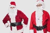 Men in Santa costume — Stock Photo