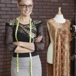 Female fashion designer — Stock Photo #34004233