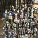 Hookahs in Cairo Bazaar — Stock Photo #34004631