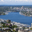 Pugent Sound from Space needle — Stock Photo #34006009