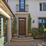 Beautiful Mediterranean home exterior — Stock Photo #34007823