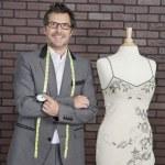 Male fashion designer — Stock Photo #34008355