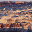 Stock Photo: Arid rock formation in North America
