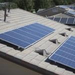 Solar panelling — Stock Photo